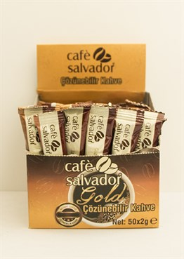 Cafe Salvador Gold 2 gr (Kutuda 50 adet)
